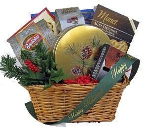 Piney Woods Holiday gift basket