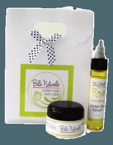 natural eye serum and cream