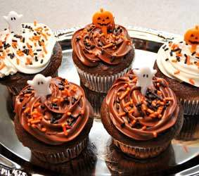 Halloween cupcakes delivered in Flagstaff AZ