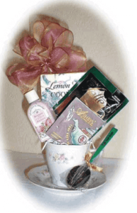 Tea cup gift
