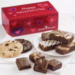 Valentine Brownies and Cookies