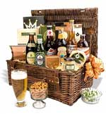 Beer Gift Basket - Beers from around the world.