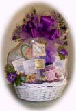 Pampered Lady Gift Basket for Woman