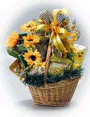 Sunflower Gift Basket