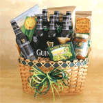 Irish Guinness Gift Basket