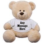 Personalized Teddy Bear for a great birthday gift