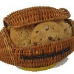 football cookie gift