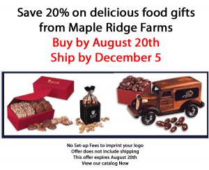 Save 20% on Maple Ridge Farms