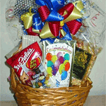 Mini congratulations gift basket