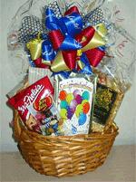 Mini congratulations gift basket