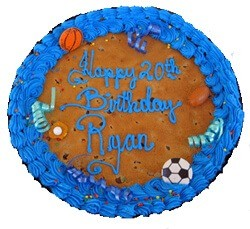 personalzied cookie cake