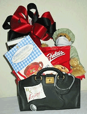 Doctor Feelgood Get Well Gift Basket