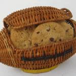 football cookie gift basket