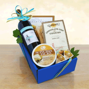 Cabernet Wine and Cheese gift