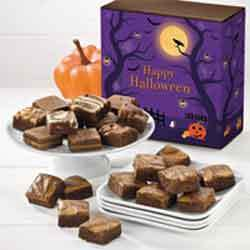 Halloween brownies gift box