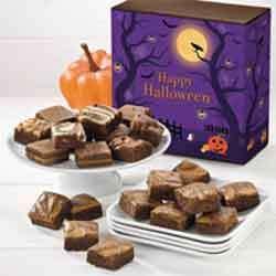 Halloween brownies gift box