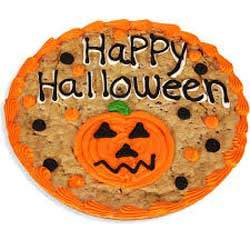 Halloween Cookie Cake