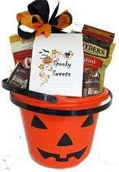 Halloween Great Pumpkin filled with treats
