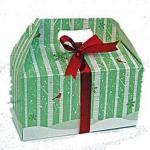 Winter Wonderland gift box filled with holiday treats