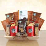 Starbucks Deluxe Gift Basket
