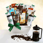 Starbucks coffee gift basket special