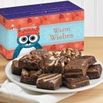 Warm wishes brownie gift