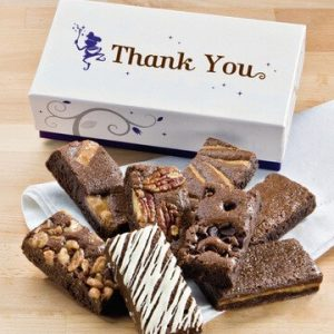 Budget Thank You Brownies