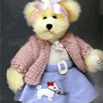 Sock Hop Bear from 50's