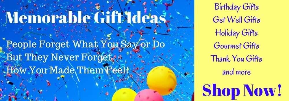 Creative Gift Ideas that create memories