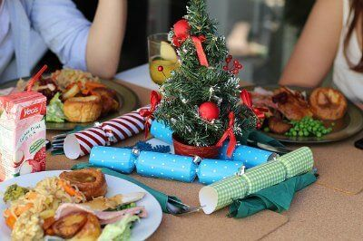 Christmas dinner with a twist