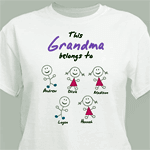 Personalized t-shirt for grandma