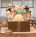 Mothers Day Relaxation Spa gift basket