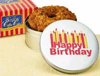 Birthday Coffee Cake in Tin