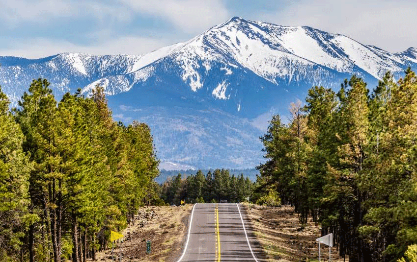 road to flagstaff