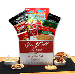 Get well with cchicken soup gift box