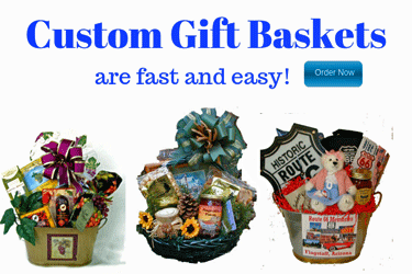 Custom Gift Baskets are Fast and Easy