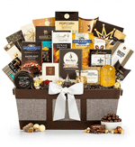 Gourmet gift basket for royalty
