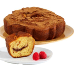 Raspberry Cinnamon Coffee Cake