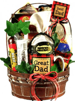 unique gift basket for Dad