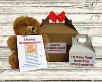 Bear hugs gift box