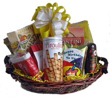 Birthday Gourmet Gift Basket