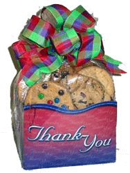 Thank You Cookies Gift Basket