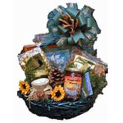 Custom gift baskets are our specilty