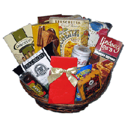 Custom creative gift basket