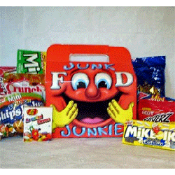 Gift for junk food lover -- snack food gift box