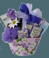 Lavernder gift basket