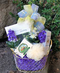 small pamper gift basket