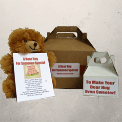 Teddy Bear Hug Gift Box