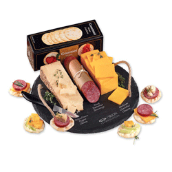 cheese and sausage gifts from Maple Ridge Farms