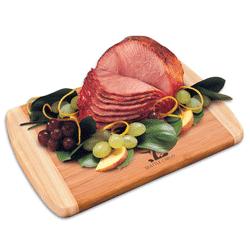 Smoked hams and turkeys